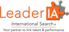 LeaderIA International Search Logo