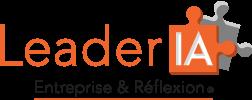 LeaderIA logo Entreprise Réflexion